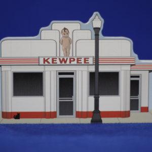 Kewpee Downtown Wooden Building